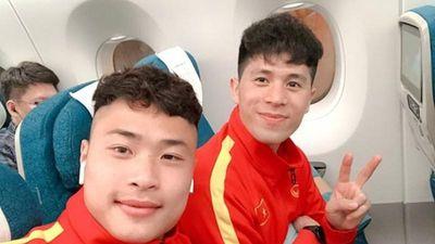 Đội tuyển U23 Việt Nam khoe ảnh cực 'lầy' tại Hàn Quốc