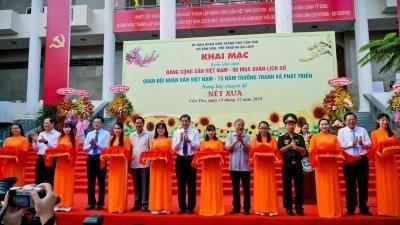 Cần Thơ triển lãm ảnh 'Đảng Cộng sản Việt Nam- 90 mùa Xuân lịch sử'