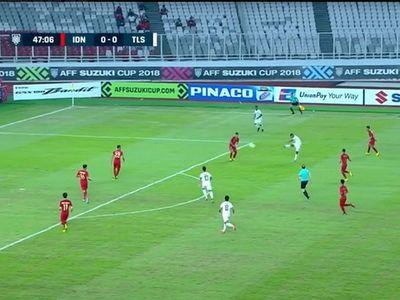 2 trận thua liên tiếp và thủng lưới tới 10 bàn nhưng Timor Leste vẫn nhận được nhiều lời khen ngợi, sau khi đội bóng này lập 'siêu phẩm' vuốt bóng vào lưới của Indonesia.