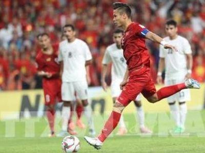 Trước thềm đại chiến với Jordan cuối tuần này, đội trưởng đội tuyển Việt Nam được báo chí quốc tế vinh danh.
