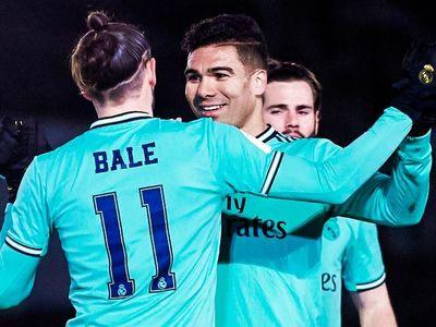 Tiền đạo người xứ Wales mở tỷ số trong trận thắng 3-1 của Real Madrid trước Unionistas de Salamanca CF ở vòng 32 đội Cúp nhà vua Tây Ban Nha hôm 23/1.