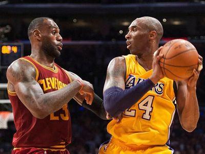 Kobe Bryant đã chúc mừng LeBron James khi bị đàn em vượt mặt trong danh sách ghi điểm NBA, chỉ một ngày trước khi anh qua đời sau vụ rơi trực thăng hôm 26/1.