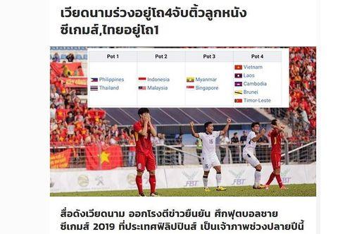 SiamSport đăng bài 'dìm hàng' bóng đá Việt Nam sau khi HLV Park tuyên bố 'Chúng tôi là đội bóng số 1 Đông Nam Á'