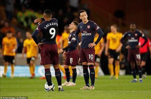 Arsenal thua te tua Wolves, HLV Emery vẫn nói điều bất ngờ