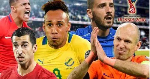 Đội hình siêu 'khủng' nằm nhà xem World Cup 2018