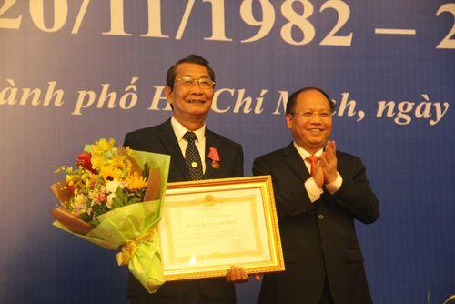 Ngành GD-ĐT TP.HCM kỷ niệm 35 năm Ngày Nhà giáo Việt Nam