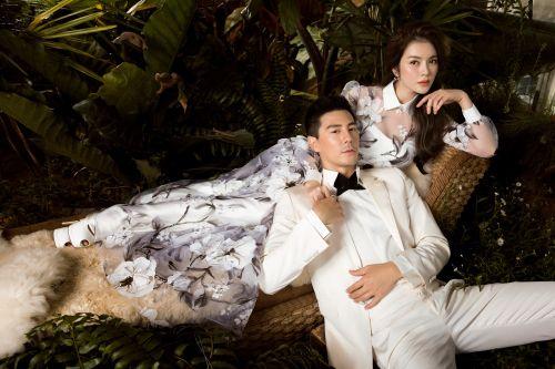 Lý Nhã Kỳ tình tứ bên nam thần Thái Lan Dome Pakorn