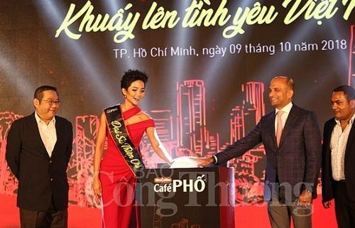 Khởi động chiến dịch 'Café Phố - Khuấy lên tình yêu Việt Nam'