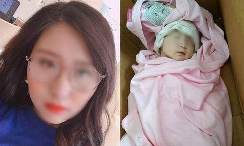 Vụ nữ sinh ném con xuống chung cư: Cháu bé có phản ứng sống