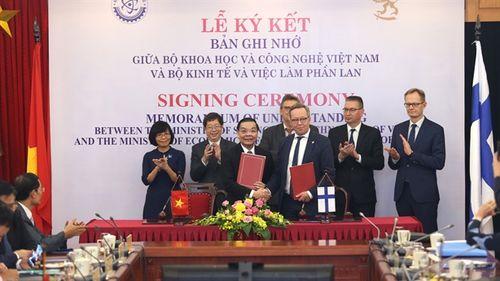 Việt Nam-Phần Lan đẩy mạnh hợp tác KHCN, đổi mới sáng tạo