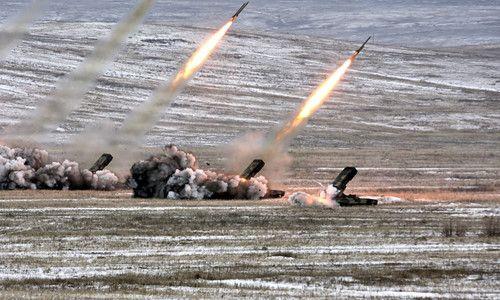 Toát mồ hôi với dàn vũ khí của lực lượng phòng hóa Nga