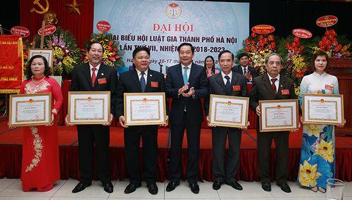 Luật gia Nguyễn Hồng Tuyến tiếp tục giữ chức Chủ tịch Hội Luật gia TP Hà Nội
