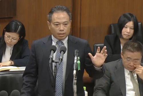 Giám đốc công ty XKLĐ Việt Nam phát biểu trước Quốc hội Nhật Bản