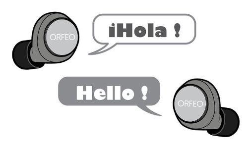 ORFEO sắp trình làng tai nghe không dây, hỗ trợ hơn 60 ngôn ngữ