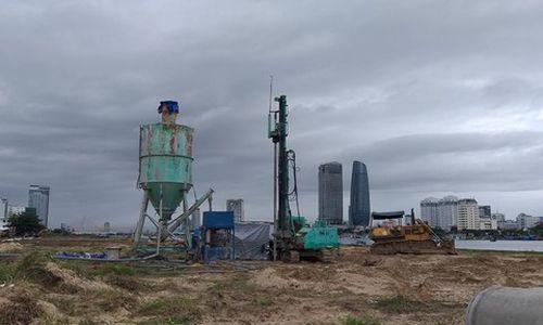 Xây dựng hạ tầng dự án 'khủng' ven sông Hàn