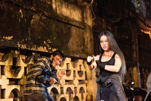 Hoa Trần – bà xã Việt Hoàn hóa thân thành 'nữ quái' giang hồ