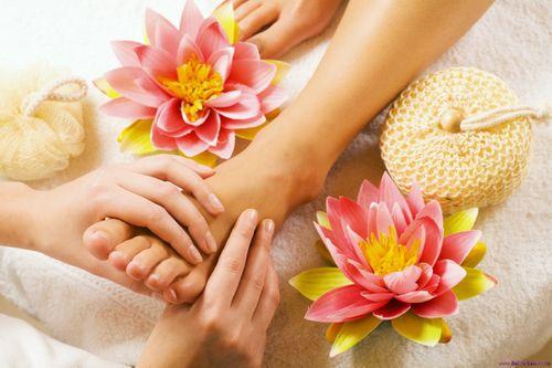 Massage chân và sức khỏe