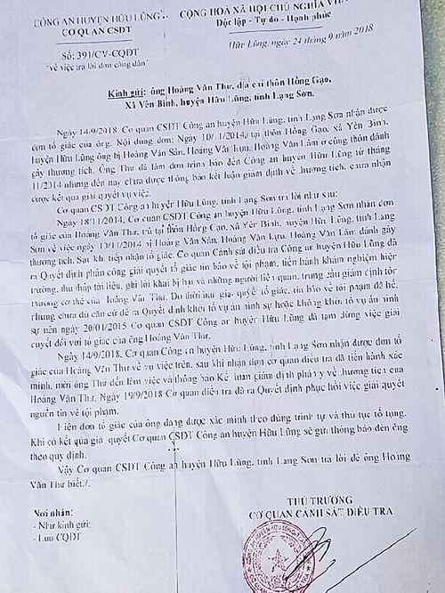 Hữu Lũng, Lạng Sơn: Vì sao vụ tố cáo bị gây thương tích 'tạm dừng' nhiều năm?