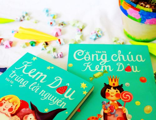 Kem Dâu và những câu chuyện diệu kỳ của trẻ thơ