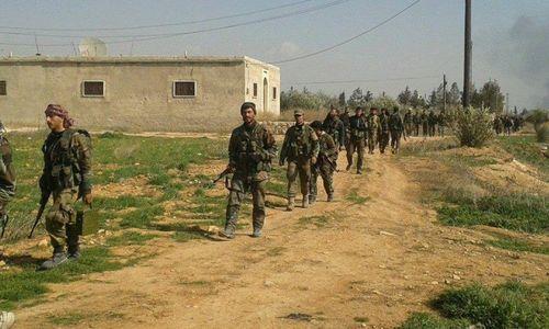 Một đội quân lớn của Syria hướng về phía đông khi Mỹ rút quân