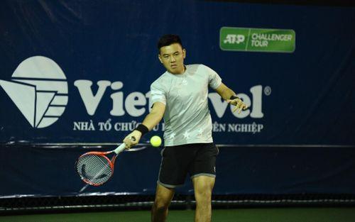 Hoàng Nam thắng kịch tính trận khai mạc giải quần vợt Đà Nẵng mở rộng