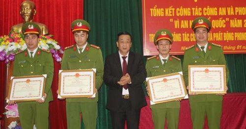 Hải Dương: Giải cứu thành công bé gái 3 tuổi, Công an huyện Ninh Giang được thưởng lớn