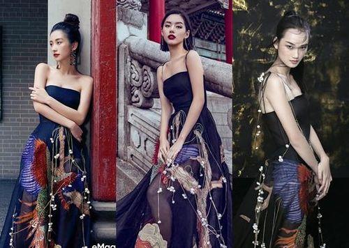 Nét Á Đông sắc sảo trong pha đụng hàng mới nhất của Jun Vũ, Khánh Linh và Quỳnh Anh