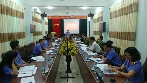 VKSND tỉnh Điện Biên tăng cường công tác phối hợp các cơ quan tố tụng, tư pháp
