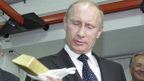Chống trừng phạt Mỹ, kho vàng Nga lên kỉ lục mới
