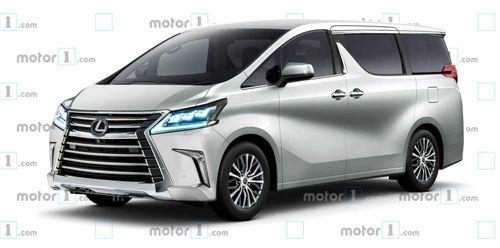 Lexus hé lộ 'phi thuyền mặt đất' với nền tảng của Toyota Alphard