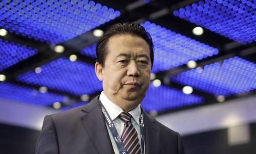 Cựu chủ tịch Interpol Trung Quốc sắp bị khởi tố