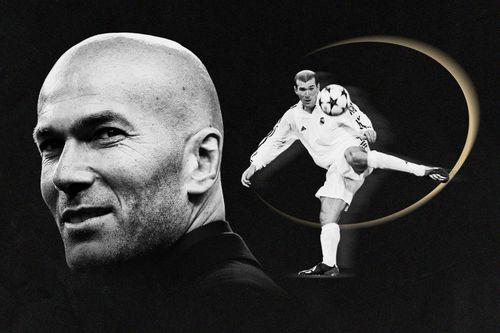 Zinedine Zidane và khoảnh khắc vĩ đại của thiên tài
