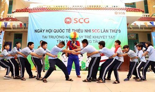 Tập đoàn SCG hướng đến học sinh khuyết tật tỉnh Bà Rịa- Vũng Tàu