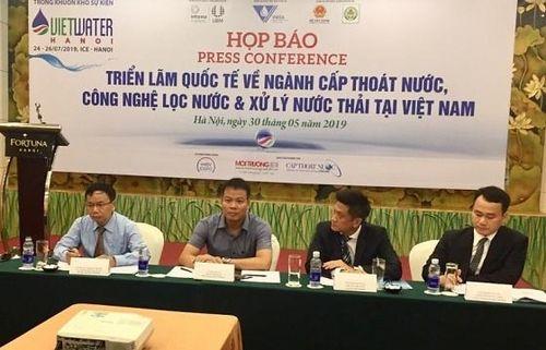 VIETWATER 2019: Cơ hội tiếp cận công nghệ lọc và xử lý nước mới tại Việt Nam