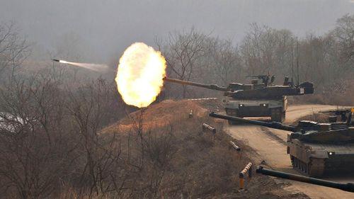 Hàn Quốc bắt đầu sản xuất trở lại xe tăng 'báo đen' K2
