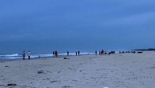 2 nam sinh mất tích khi tắm biển tại Đà Nẵng