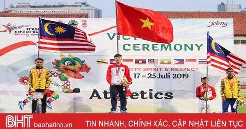 Chàng trai Hà Tĩnh giành 15 huy chương vàng các giải điền kinh