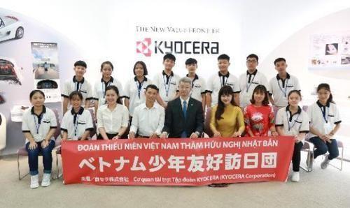 Tập đoàn Nhật Bản tổ chức giao lưu văn hóa cho học sinh Việt