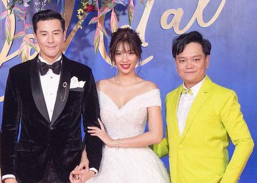 Diễn viên Trịnh Tú Trung tham dự hôn lễ thế kỷ của siêu sao Thái Lan Dome Pakorn Lam
