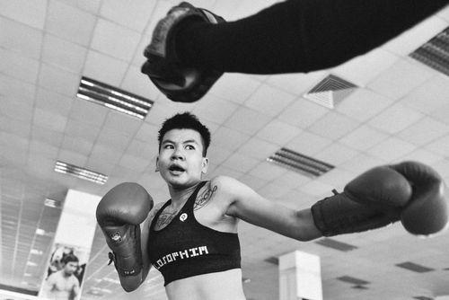 Chuyên gia Hàn Quốc huấn luyện cho cô gái vàng quyền anh Việt Nam