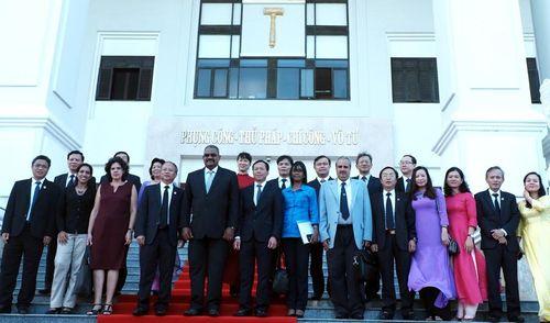 Đoàn đại biểu cấp cao Tòa án nhân dân tối cao Cuba thăm, làm việc tại Đà Nẵng