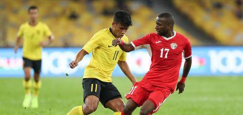 Malaysia thua Jordan trên sân nhà
