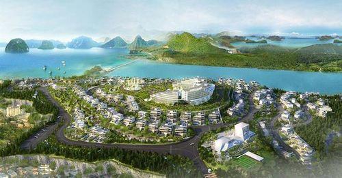 Quảng Ninh cấp phép cho Monaco Hạ Long xây biệt thự cao cấp trên đồi 8A