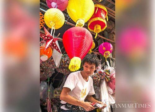 Myanmar: Rực rỡ đèn lồng truyền thống trước Lễ hội ánh sáng Thadingyut