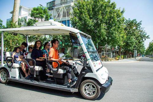 Thử nghiệm thành công xe tự hành trong khu đô thị hiện đại Việt Nam
