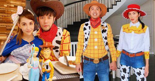 Ngắm trang phục Halloween thú vị của vợ chồng Tăng Thanh Hà, Châu Kiệt Luân và loạt sao thế giới