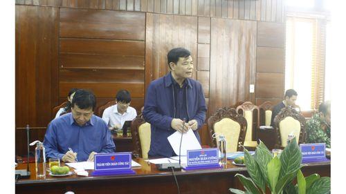 Bộ trưởng Nguyễn Xuân Cường: Phải cảnh báo trước cho người dân là cơn bão số 6 rất lớn