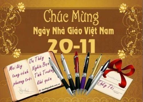 30 lời chúc mừng 20/11 ngắn gọn và hay nhất dành cho thầy cô giáo