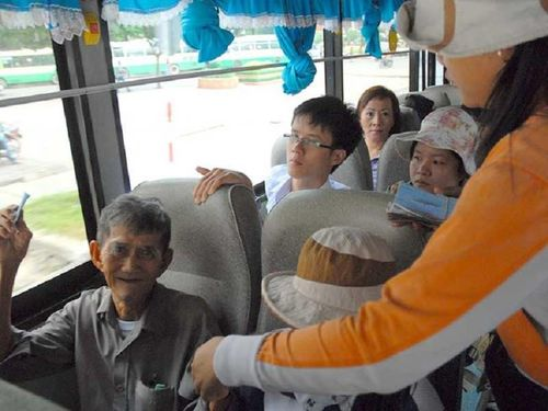 Các đối tượng được miễn vé xe buýt tại TP.HCM