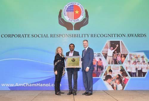 AmCham vinh danh các doanh nghiệp có hoạt động trách nhiệm xã hội nổi bật nhất